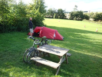 Campsite review of The Royal Oak, Hurdlow, Nr Buxton, SK17 9QJ