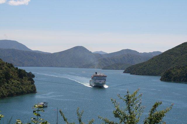 ferry wellington to picton