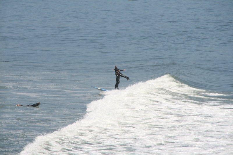 surfing acrobats