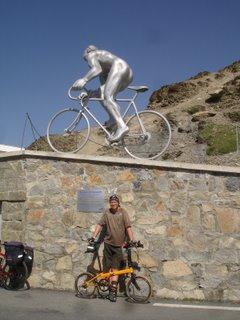 dahon speed pro TT 2008 on tourmalet