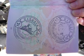ushuaia passport stamp