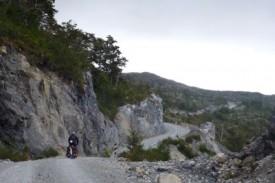 cycling La Carretera Austral hills
