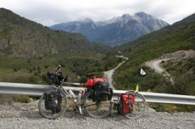cycling touring on Carretera Austral