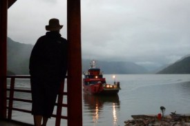 ferry at Puerto Yungay