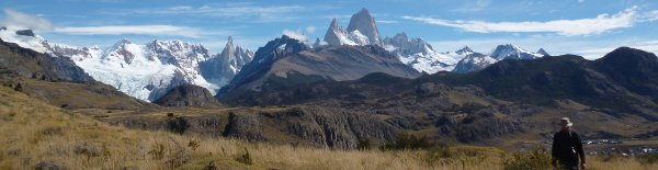 walking fitz roy argentina