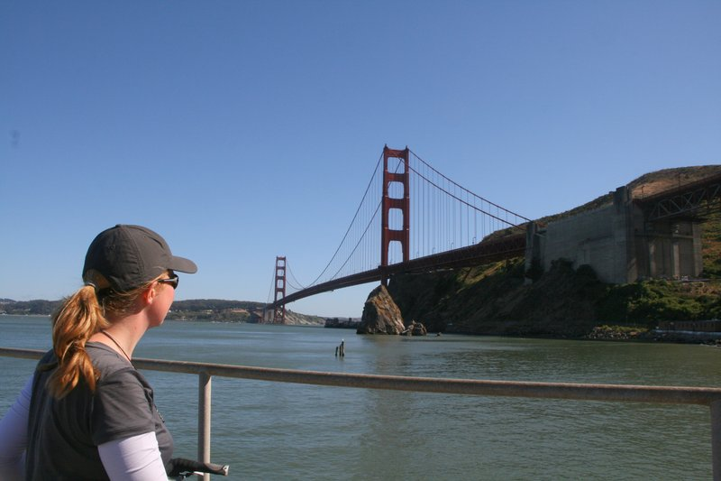 cycle touring pacific coast SF