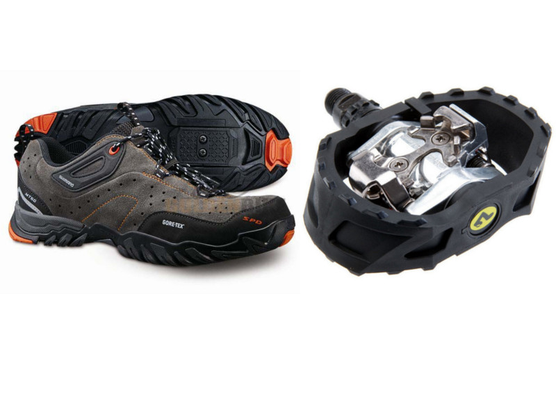 Review: Shimano MT60 Shoes and M424 SPD Pedals | woollypigs com