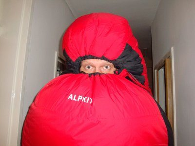 Alpkit SkyeHigh 800 Sleeping bag, a hug in a bag :)