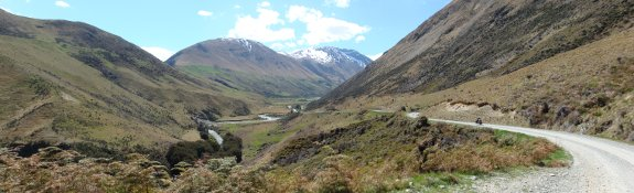 Cycle touring in New Zeland