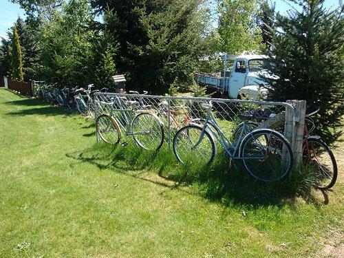 bike fence in Athol