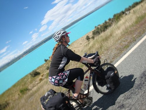 cycling from mt cook