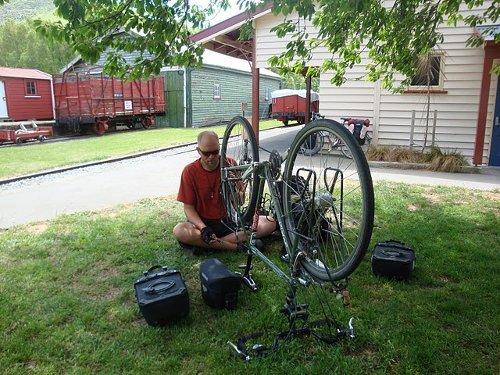 fixing my wheel