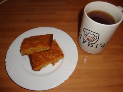 flapjacks and tea