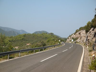 good quality roads in croatia for cycle touring