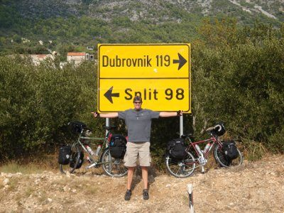 cycling from dubrovnik to split on a cycling holiday