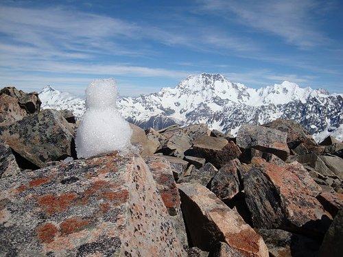 snowman at 2300 meters