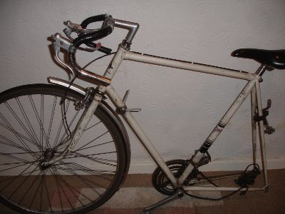 old Ladypool bicycle