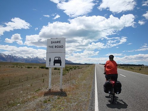 share the road in new zealand
