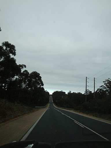loooong roads in Australia